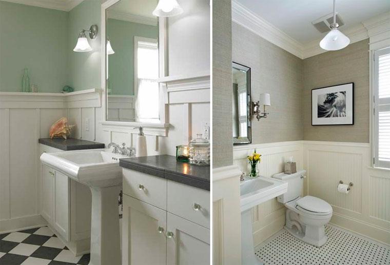 Панели вместо плитки в ванной комнате