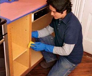 Подготовка шкафов
