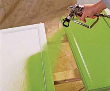 Применение аэрозольной краски