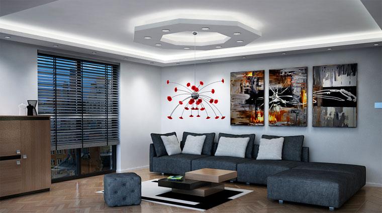 Чем отделать потолок в частном доме?