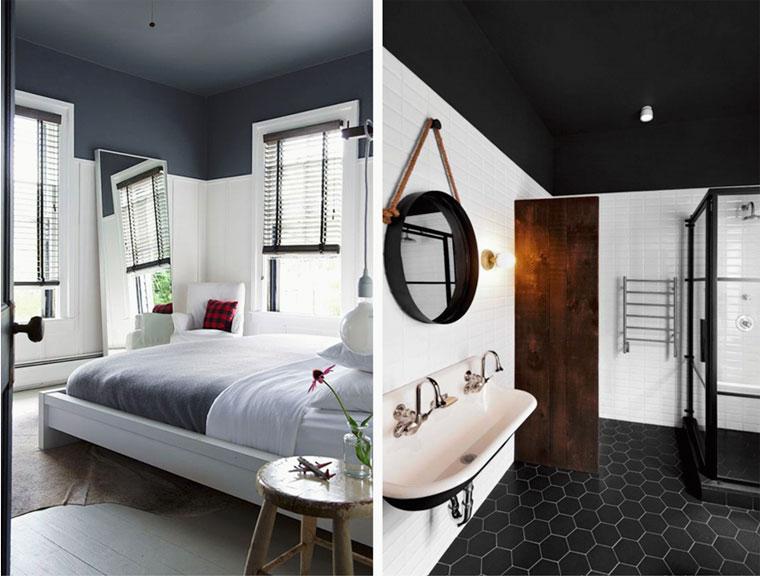 Черный потолок