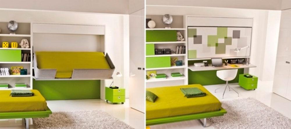 Многофункциональная мебель для небольших квартир