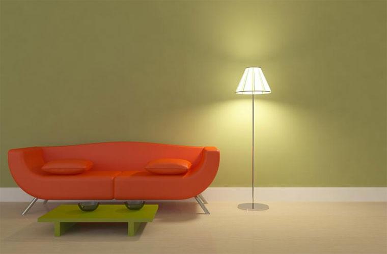 Воздействие искусственного света на цвета