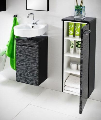 Как выбрать напольный шкаф в ванную комнату