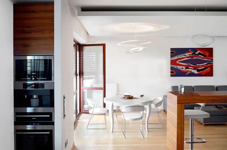 Светильники в кухню с авангардным дизайном