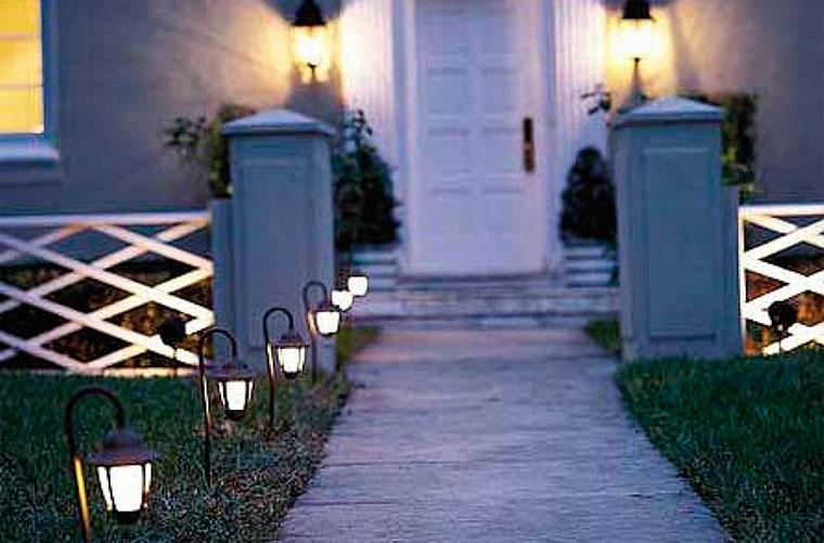 Уличные светильники на дачу