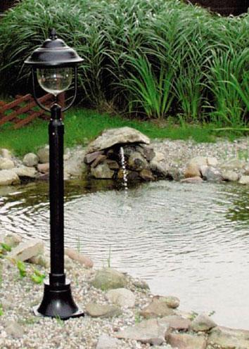 Освещение прудов и водоемов
