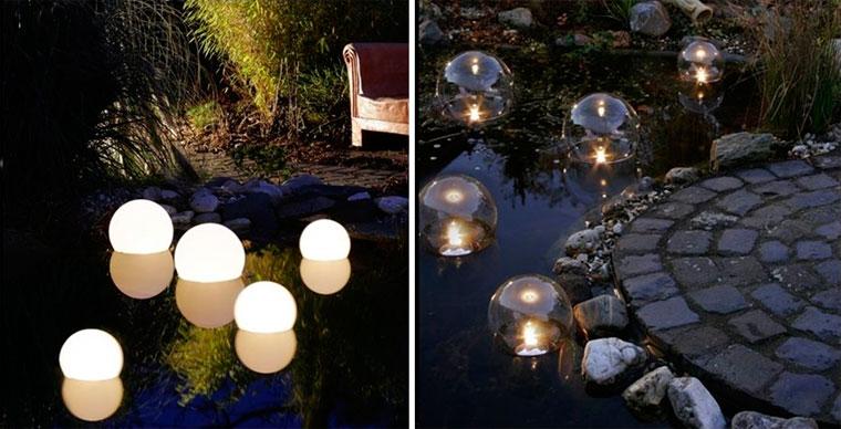 Плавающие лампы