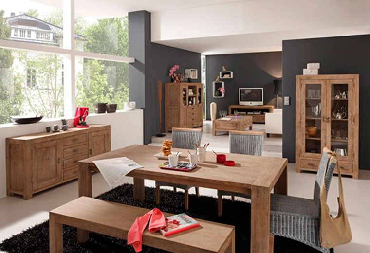 Фото интерьеров с современной деревянной мебелью