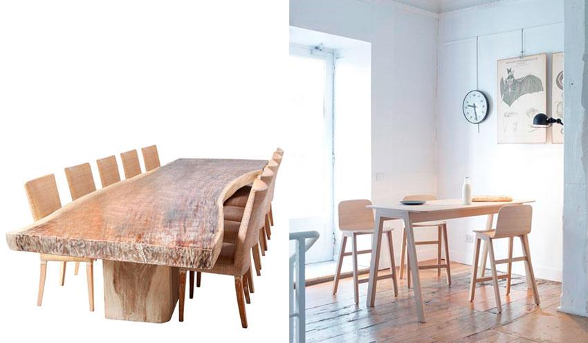 Современная мебель из массива дерева