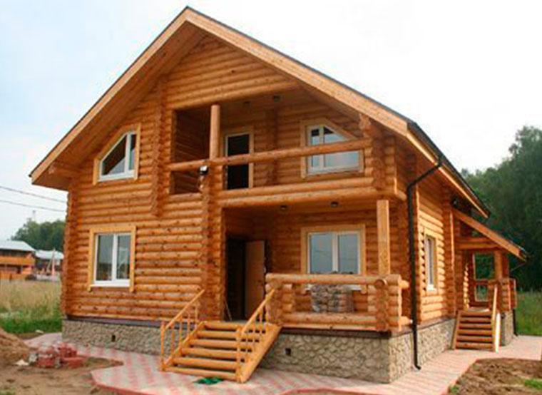 Дом из бруса и его преимущества