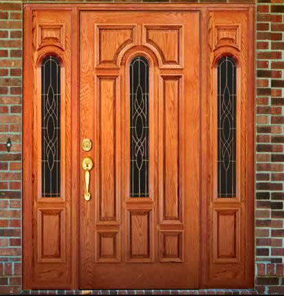 показать габариты входных дверей