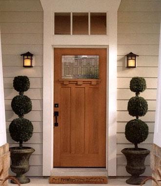 Стандартные размеры входной двери в дом