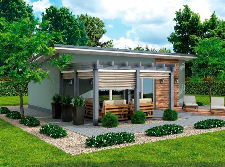 Летняя кухня в частном доме – дизайн
