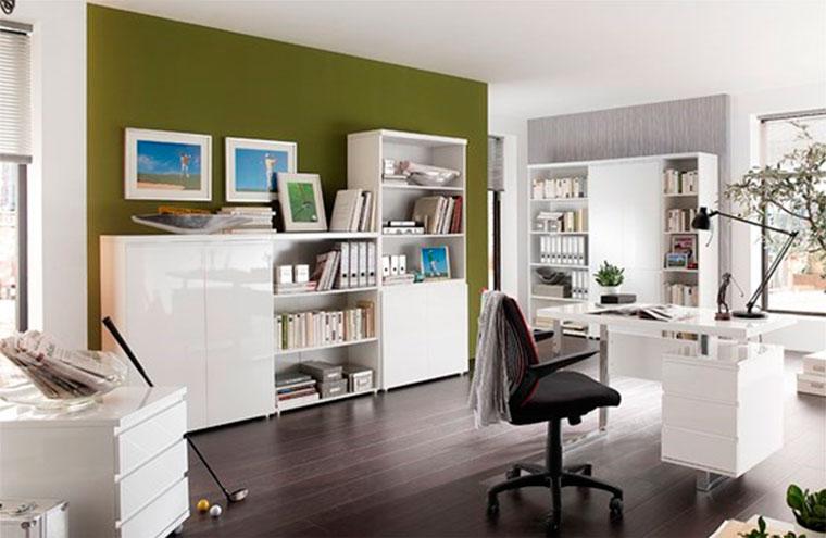 Как правильно выбрать мебель для кабинета в доме