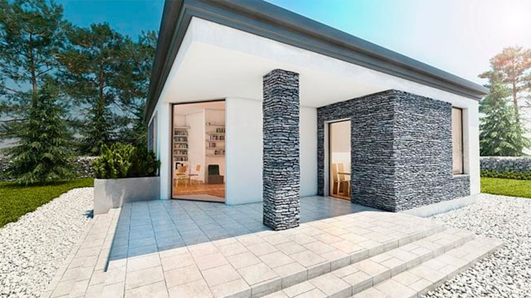 Преимущества каменных фасадов