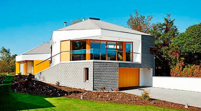 Большие ламинированные фасадные панели