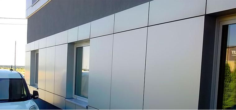 Front panels metal