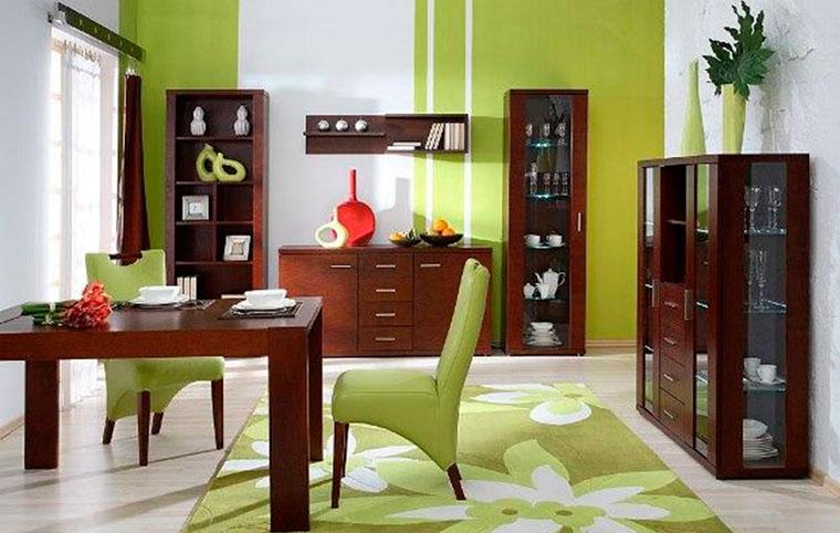 Какой цвет стен сочетается с мебелью венге?