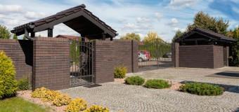 Варианты заборов для частного дома