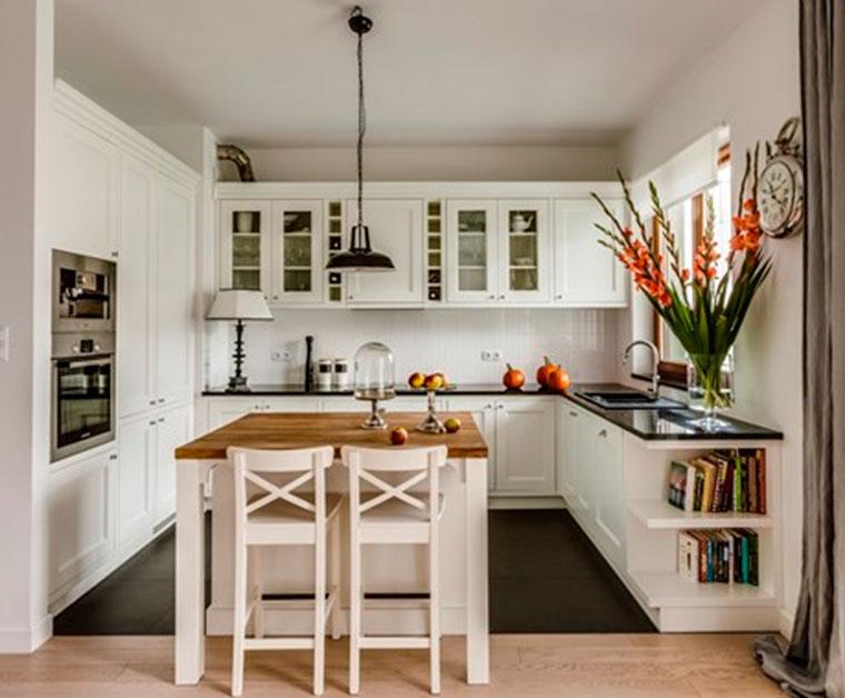 Классическая кухня в английском стиле – фото