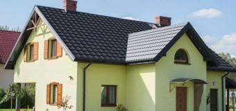 Сочетание цветов крыши и фасада дома