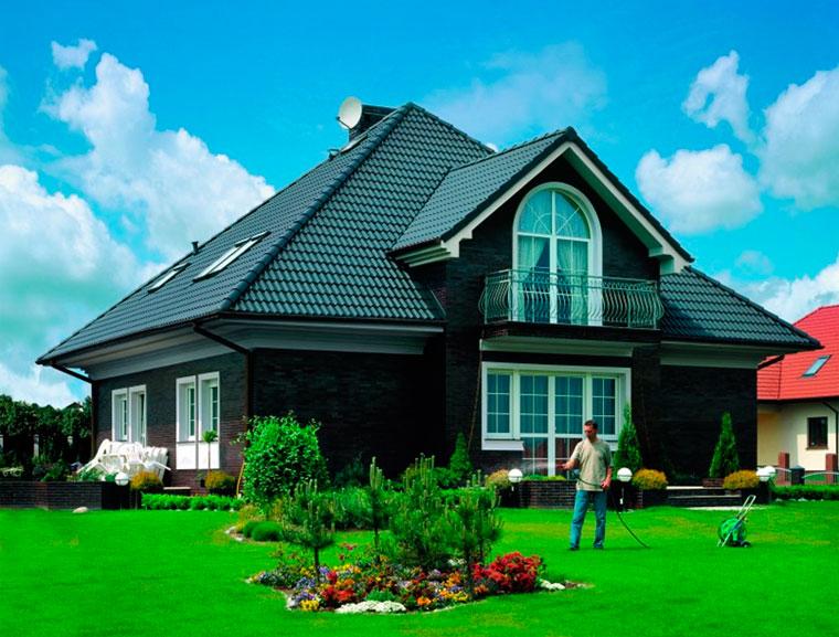 367Сочетание цветов дома и крыши