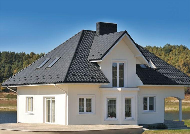 400Сочетание цветов дома и крыши