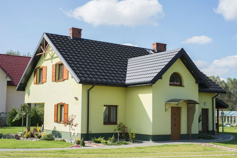 Зеленый фасад