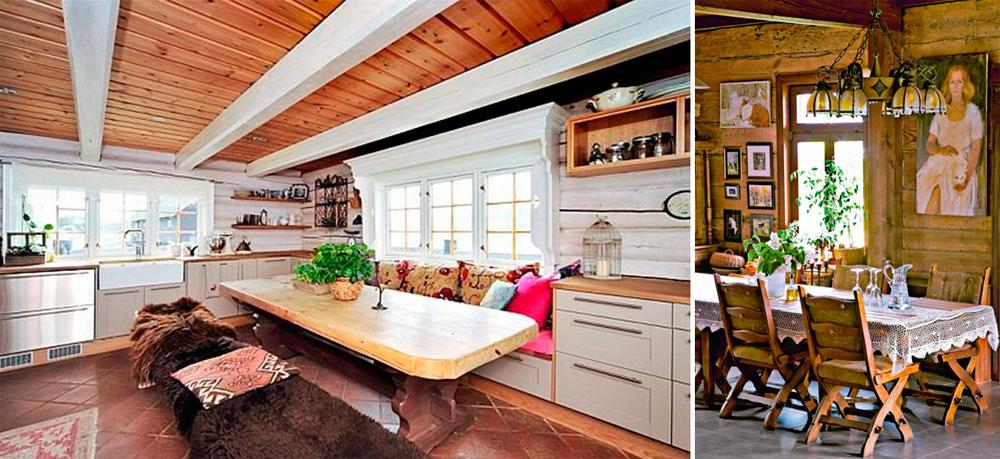Мебель для интерьера в деревенском стиле