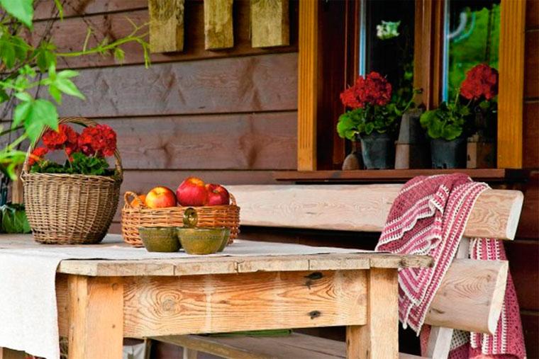 Изюминки деревенского стиля