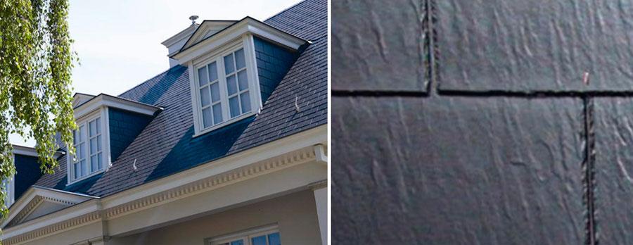 плитки, имеющие поверхность, имитирующую натуральный сланец
