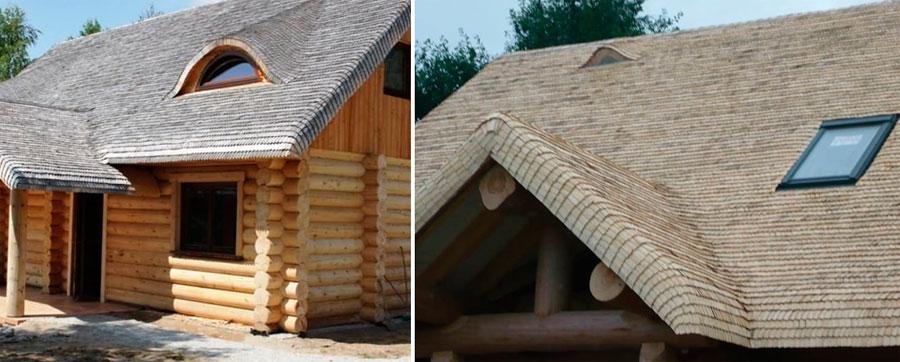 Какая крыша лучше для деревянного дома