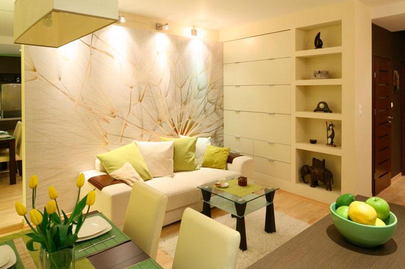 Идея для маленькой комнаты – фото интерьера