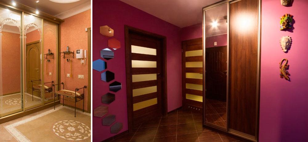 Оптические иллюзии с фотообоями и зеркалами