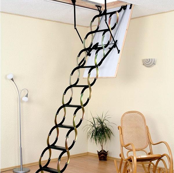 Лестницы ножницеобразные