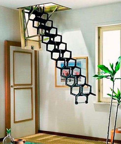Лестницы-гармошкой