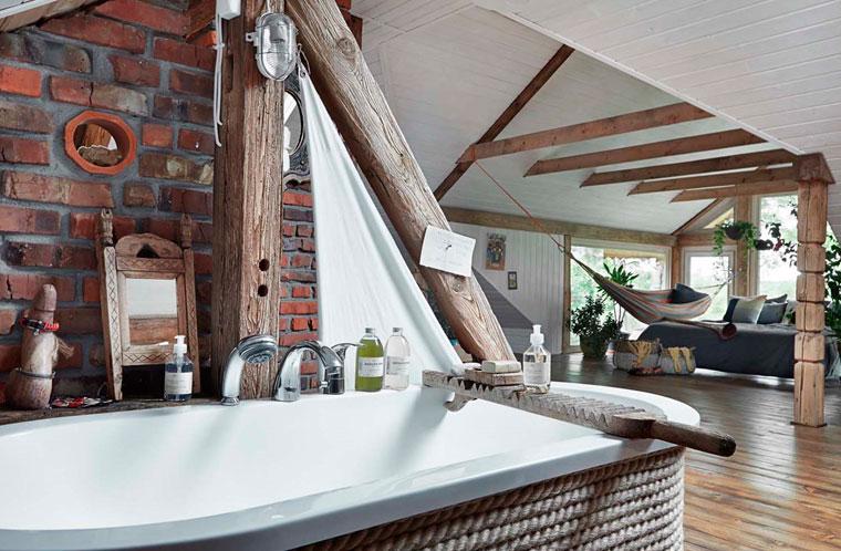 Интерьер деревенского дома в стиле кантри