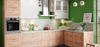 Как выбрать угловые кухни для маленькой кухни, идеи с фото