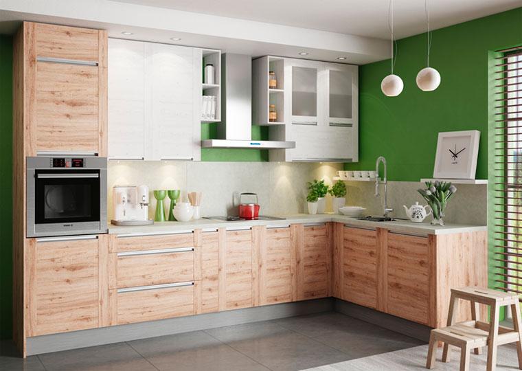 Угловая мебель для маленькой кухни