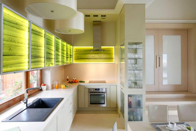 Мебель для маленькой кухни угловая – фото