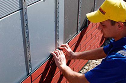 Монтаж клинкерных термопанелей на фасад без утепления – фото
