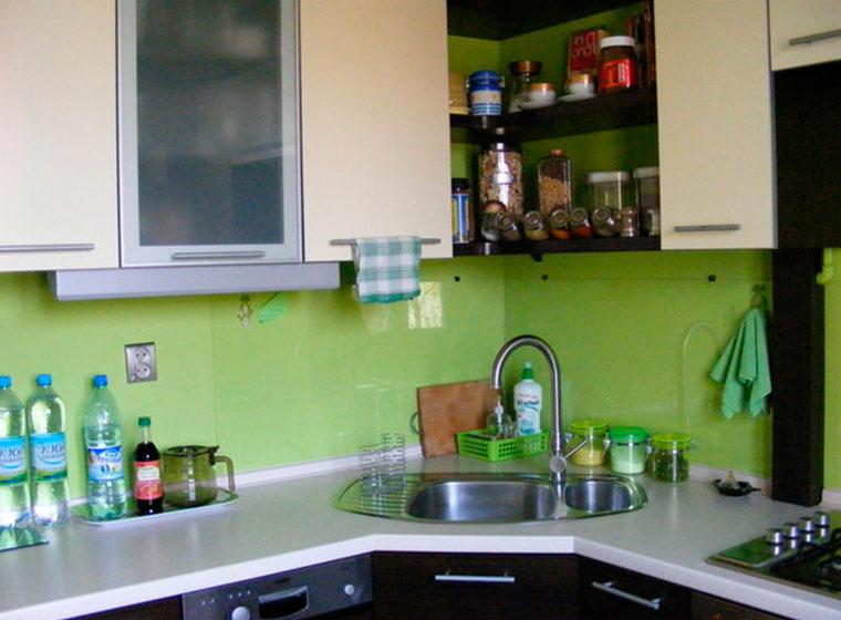 Пластиковые панели на кухню вместо плитки – фото