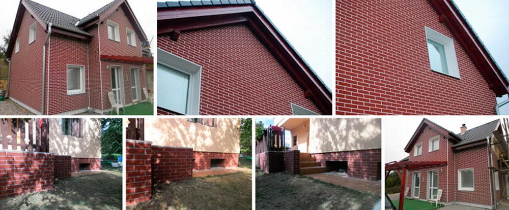 Клинкерные термопанели для фасада – фото