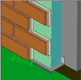 Монтаж теплоизоляционных клинкерных термопанелей на фасаде