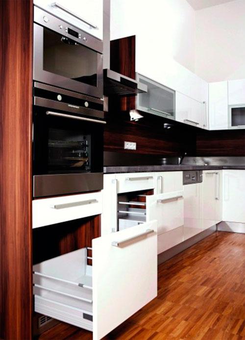 Ламинированная панель из МДФ на кухню вместо плитки