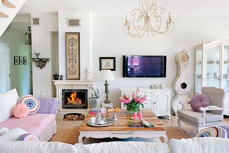 Загородный дом в стиле прованс – фото интерьера