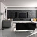 Телевизор на стене в интерьере