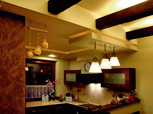 имитации потолочной балки