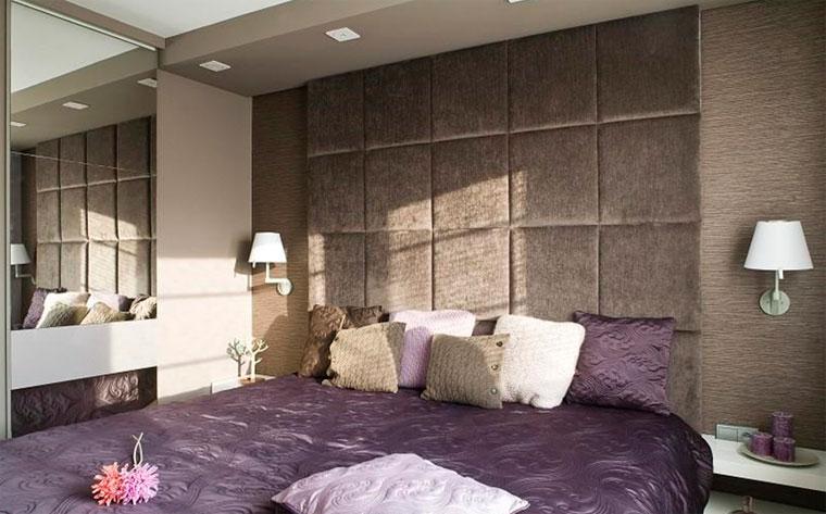 Как тканью и тканевыми панелями задекорировать стену – фото